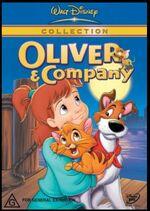 Oliver & Company 2001 AUS DVD Sec