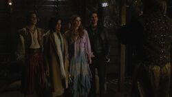 Once Upon a Time - 6x15 - A Wondrous Place - Aladdin, Jasmine, Ariel and Hook