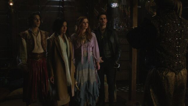 File:Once Upon a Time - 6x15 - A Wondrous Place - Aladdin, Jasmine, Ariel and Hook.jpg