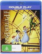 Peter Pan 2013 AUS Blu Ray + DVD