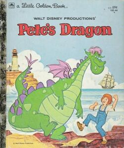 Petes dragon little golden book