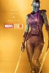 Poster gold nebula