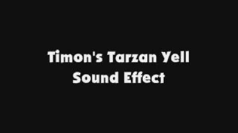 Timon's Tarzan Yell SFX