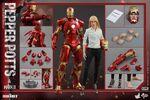 Iron Man Mark IX and Pepper Hot Toys 17