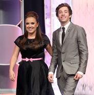 Jimmy Bennett & Jennifer Veal Movieguide Awards