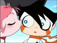 Jinmay kisses Chiro