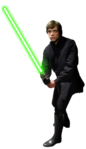 Luke Skywalker (Jedi Knight) (Glove