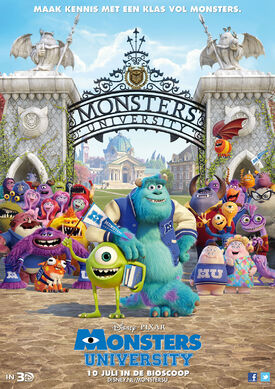 Monstersuniversitynederlandseposter