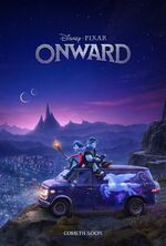 Onward Teaser Poster