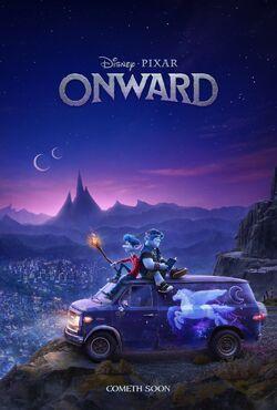 Onward Teaser Poster