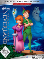 Return to Never Land 2018 Blu-Ray