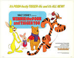 Winnie the Pooh and Tigger too movie lobby poster