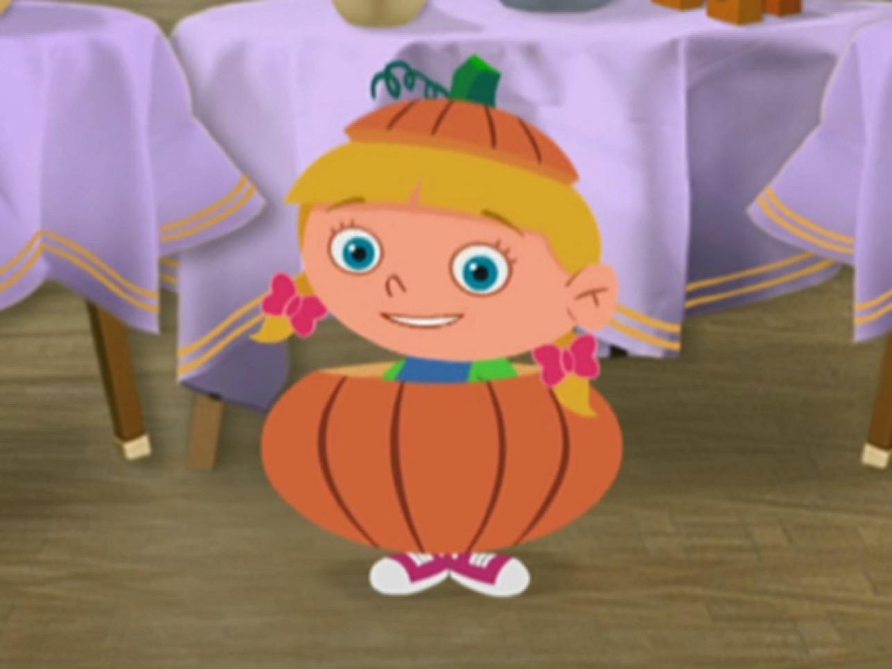 annie pumpkin halloween
