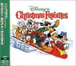 Disneys christmas favorites japanese import