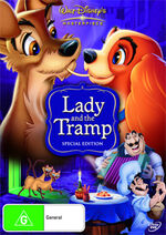 Lady and the Tramp Australia DVD