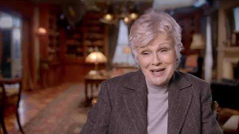 "MARY POPPINS RETURNS ""Ellen"" Behind The Scenes Interview - Julie Walters"