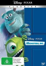 Monsters Inc 2010 AUS DVD