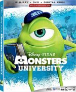 Monsters University Blu-ray 2019
