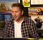 Nate Torrence behind the scenes Zootopia