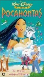 Pocahontas (2000 UK VHS) Better Image