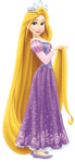Rapunzel with tiara