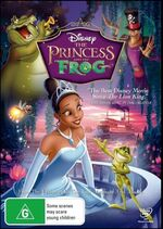 The Princess and the Frog 2010 AUS DVD