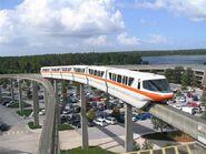 WDW Monorail 2006