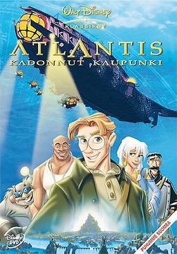 Atlantis kadonnut kaupunki