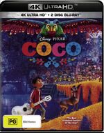 Coco 2018 AUS 4K Ultra HD + Blu Ray
