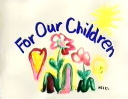 Disney's For Our Children - 1993 TV Special - Title Logo and Card