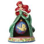 Disney Traditions The Little Mermaid Ariel Christmas Tidings of Wonder Statue