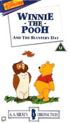 Disney Winnie the Pooh and the Blustery Day (UK VHS 1995 COVER)