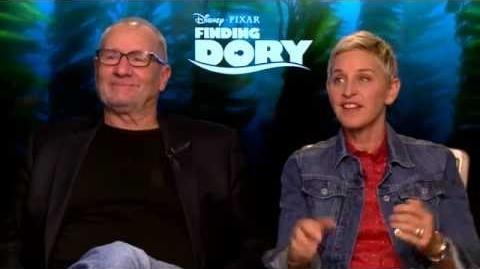 Finding Dory Interview - Ellen & Ed O'Neill