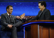 Hank Azaria Late Show Stephen Colbert