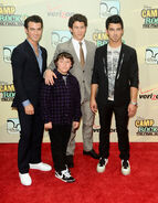 Jonas Bros Camp Rock 2 premiere