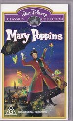 Mary Poppins 1999 AUS VHS