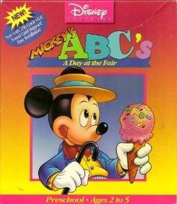 Mickey's ABC's A Day at The Fair Cover