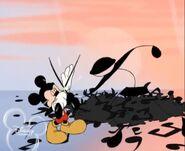 Mickey's Piano Lesson - Sword Fight