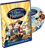 Mickey donald goofy the three musketeers uk dvd