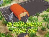 On Old MacDonald's Special Song
