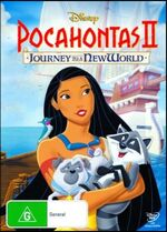 Pocahontas II Journey to a New World 2012 AUS DVD