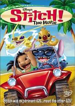 Stitch! The Movie DVD