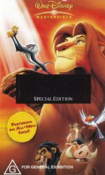 The Lion King 2004 AUS VHS