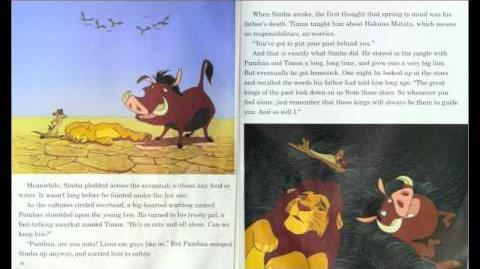 """The Lion King"" - Read along (Book and Record) - Disney"