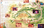Beauty and the Beast Map