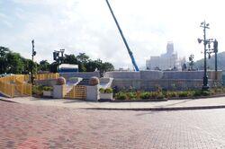 Castle Hub Stage HKDL