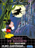 Castle of Illusion - Sega Mega Drive Cover