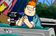 Howard in Rise of the Planet of the Robo Apes 1