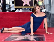 Jennifer Garner at Walk of Fame ceremony