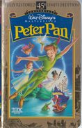 PeterPan MasterpieceCollection VHS